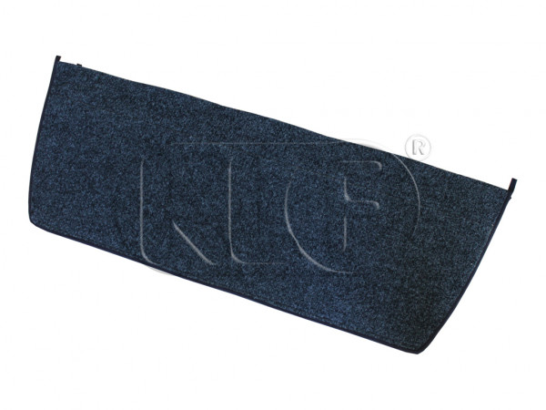 Cover for Rear Luggage Compartment, convertibles only, synthetic material, charcoal, year 08/67 on