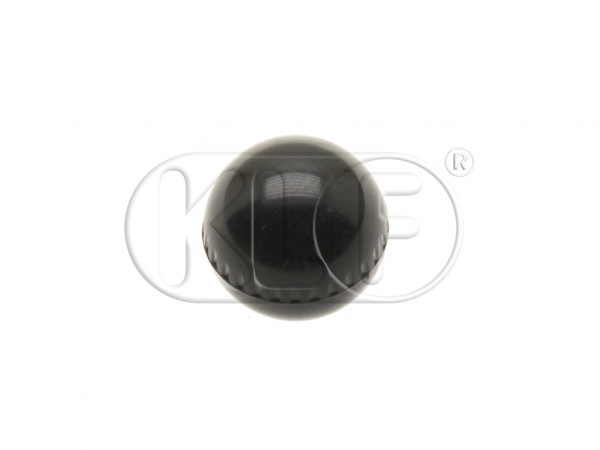 Knob for Heating Control, black, year 8/65 on