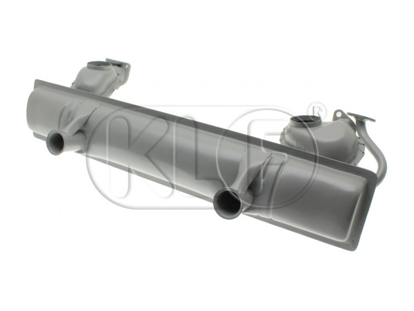 Muffler, 29-37 kW (40-50 PS), single heat riser intake manifold, year 8/65 on