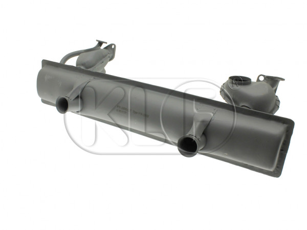 Muffler, 25 kW (34 PS), year 1/63 on