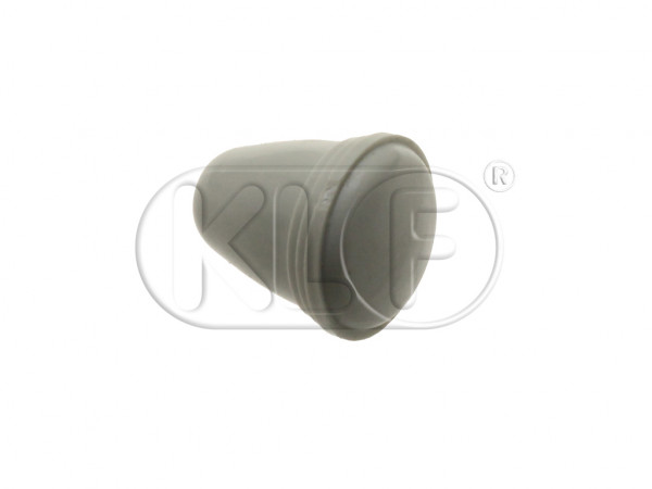 Knob for Light Switch / Choke / Ashtray, grey, 5 mm thread, year thru 7/66