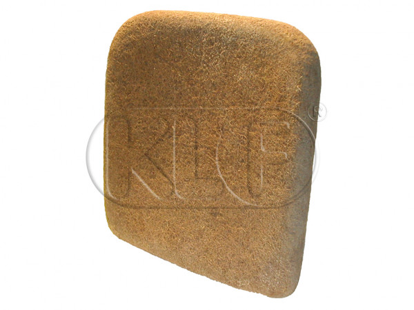 Pad for Front Seat Backrest, year 8/55-7/64