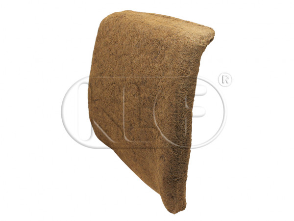 Pad for Front Seat Backrest, without integrated headrest, year 08/72 - 07/76