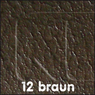 Material by the yard, brown, smooth leatherette