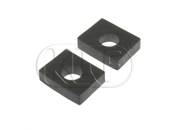 Shockpad, body to front beam, lower,(pair) year 10/52 on (not 1302/1303)