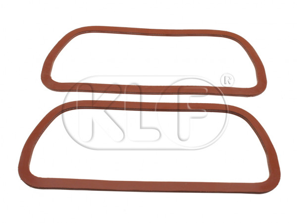 Gasket for Valves Cover, Silicone, pair, 25-37 kW (34-50 PS)