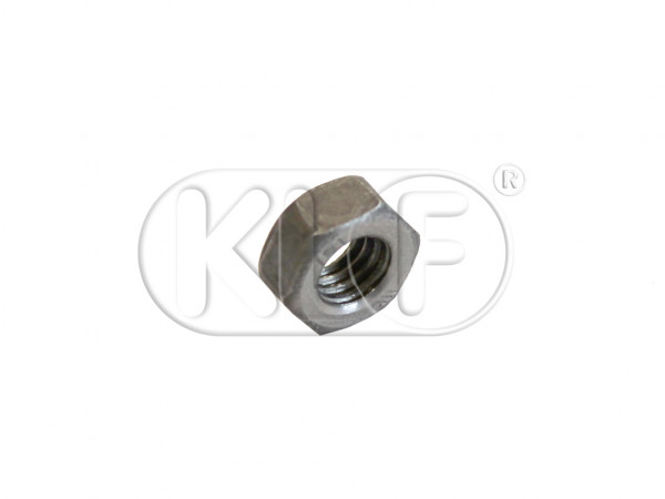 Nut M6 to lock the emergency cable nut, year 08/64 on