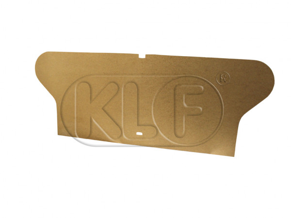 Rear Seat Backrest Backing, (not convertible) year 8/64-7/71