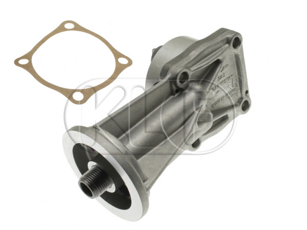 Oil Pump with oil filter connection, fits 4-bolt flat cam, year 08/71 on