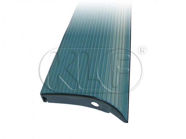Running Board, left, Top Quality, with blue mat