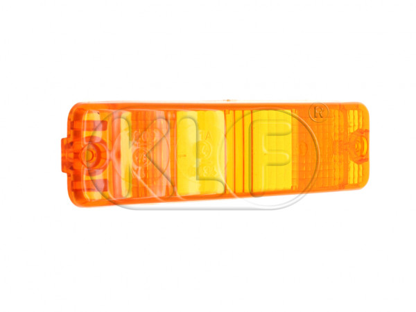 Lens for Turn Signal, amber, year 8/74 on