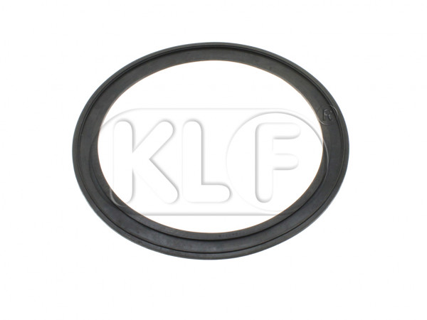 Seal Headlight Lens to Housing, year thru 7/67