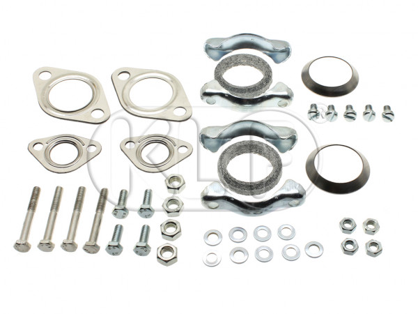 Complete Installation Kit, muffler, 22 kW (30 PS) year 8/55-7/60