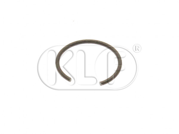 Emergency Brake Handle Pin Circlip, secures pin to tunnel