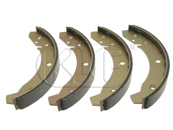 Brake Shoe Set, rear, year 10/57- 7/67 (30mm), set of 4