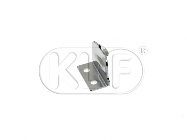 Vent Wing Latch Plate, fits left and right, each, year thru 7/64