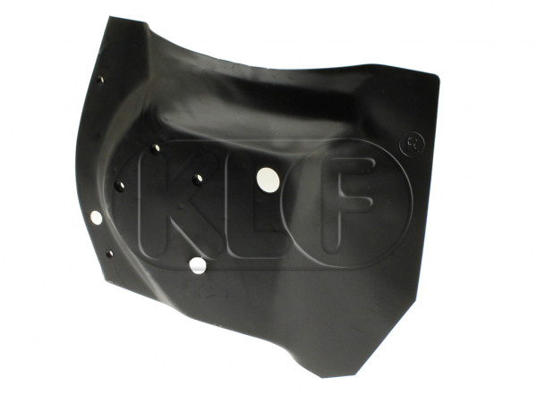 Wheelhouse, front, left, with bumper bracket retainer, 1302/1303 only, year 8 /70 on