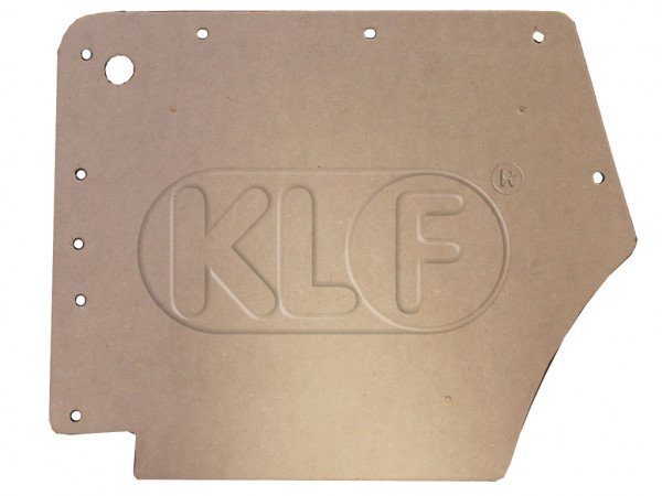 Side trim panel rear, convertible, year 08/55 - 07/64