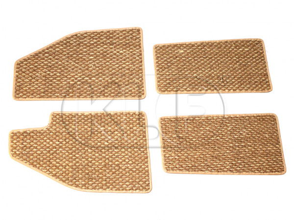 Coco Mats, set of 4, year 8/57-7/59 beige
