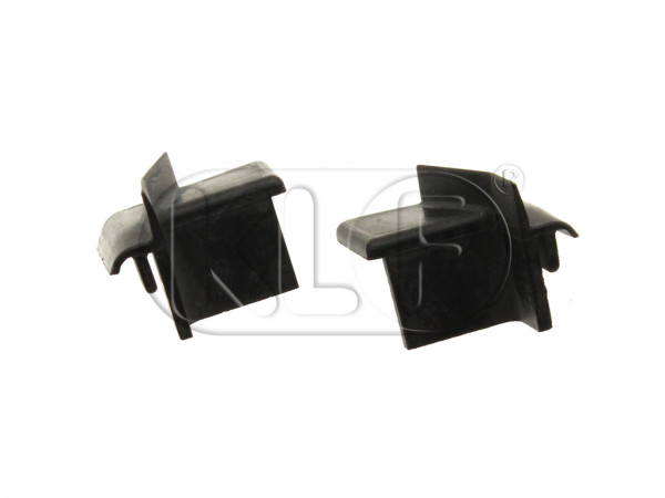 Rubber Wedges for Rear of Door, pair, year 8/64 on