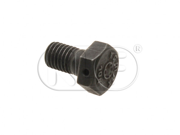 Bolt for front backing plate