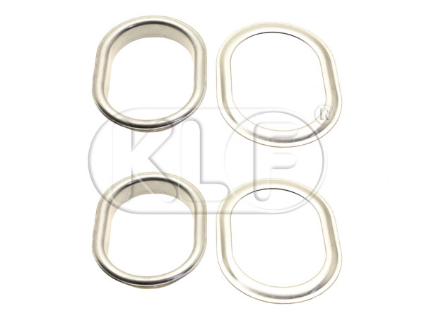 Heater Outlet Rings, pair, year 10/52 - 07/55