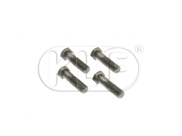 Screw for Rear Bearing Cover, set of 4, wrench size 14