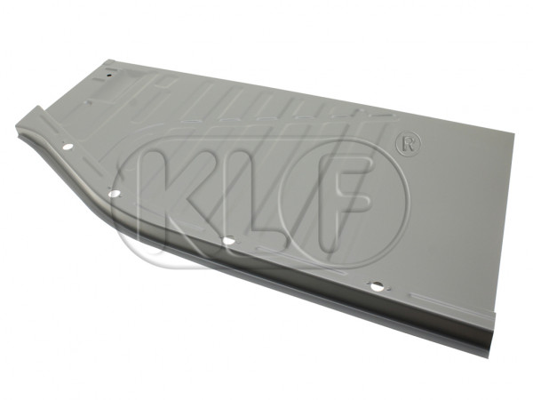 Floor Pan Quarter front, left, Top Quality, year 08/72 on