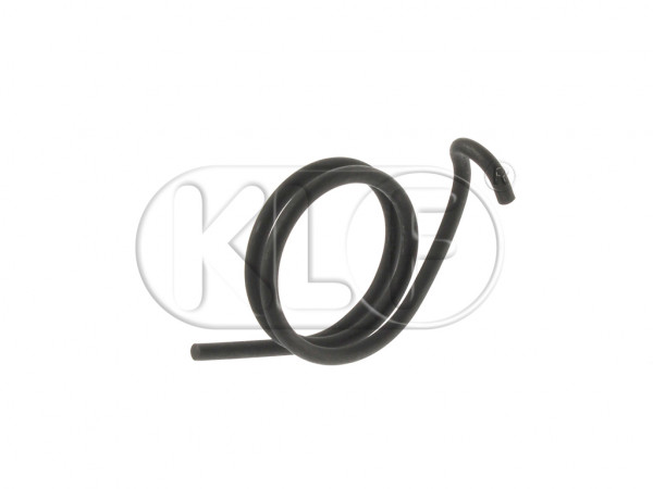 Return Spring for Clutch Operating Shaft, year 8/60-7/71