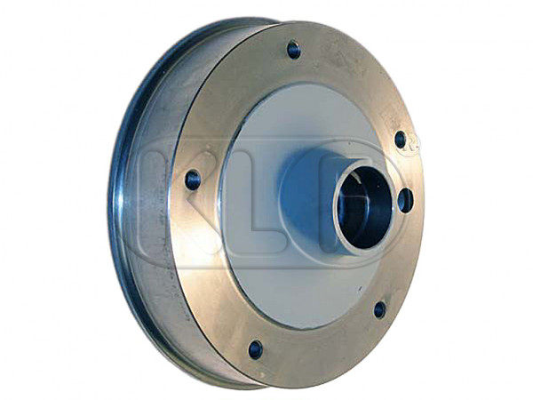 Brake Drum front, year thru 10/57