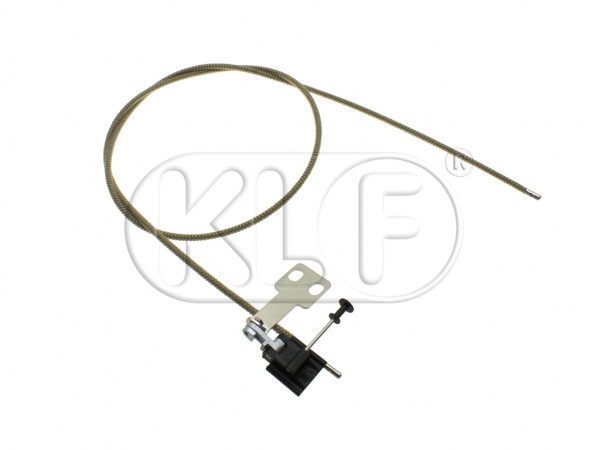 Sunroof cable, left, 1303 only, year 08/72 - 07/75