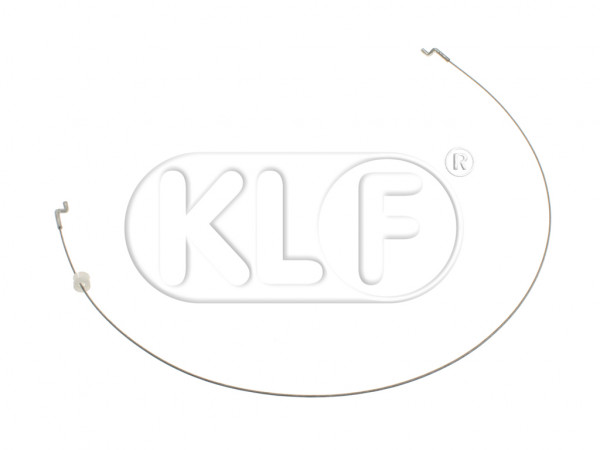 Seat Backrest Release Cable, inner, length 57cm, year 8/76 on