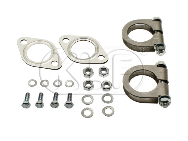 Muffler Installation Kit, Abarth Style, 29-37 kW (40-50PS)