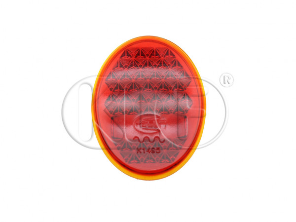 Tail Light Lens, glass, Hella, year 10/52 - 09/55