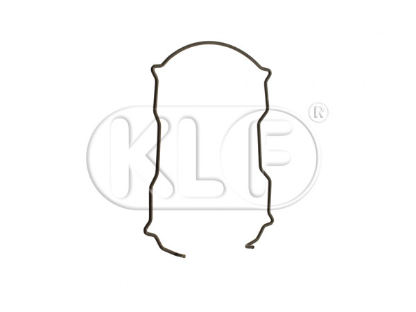 Taillight Clip, secures lens/reflector, year 10/55-4/61