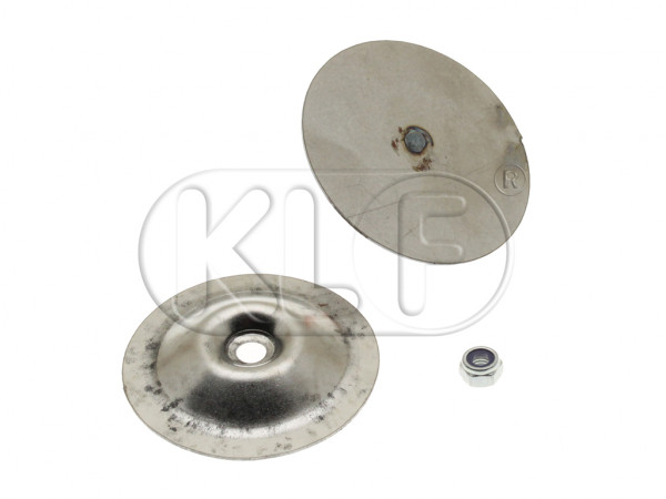 Cover for Front Apron, 2 pcs, outer diameter 61,5 mm