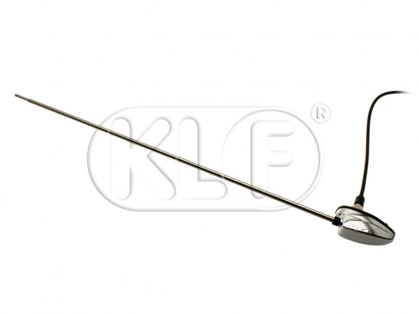 Antenna for side mount, single base