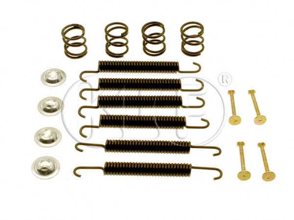 Brake Spring Kit, fits front year 51-10/57, fits rear, year 54-10/57
