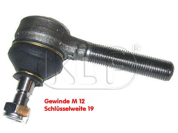 Tie Rod End, left outer year 5/68 on, 1302/1303 inner, left-hand thread