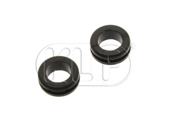 Grommets for Wiper Shaft, pair, year 8/57-7/64