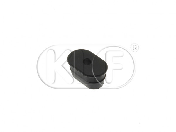 Grommet for fuel line to chassis, oval