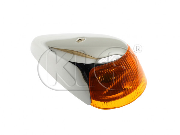 Turn Signal for top of fender, year 11/63-7/74