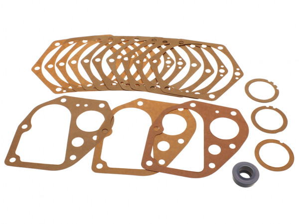 gasket set for gearbox, swing axle, year thru 80760