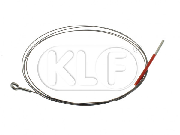 Accelerator Cable, 2630mm, year 10/52-7/57