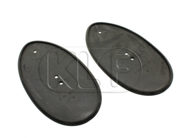 Taillight Seal, pair, year 10/55-4/61