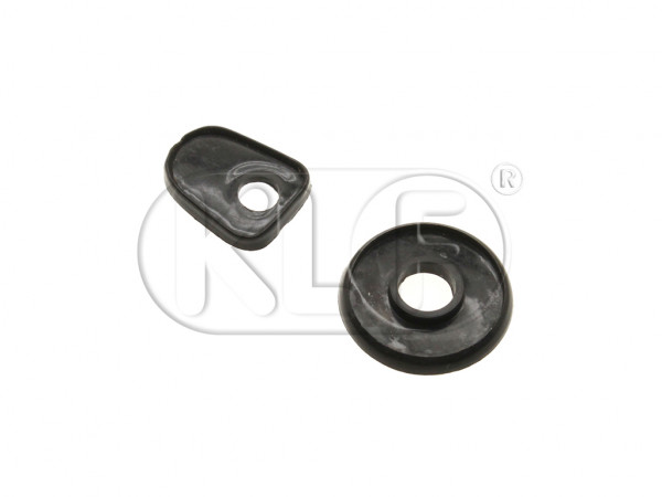 Front Hood Handle Seals, year 8/65-7/67