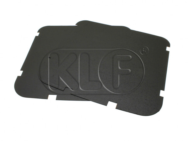Front Seat Backrest Backing, pair, year 8/56-7/64