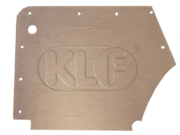 Side trim panel rear, convertible, year 08/64 on