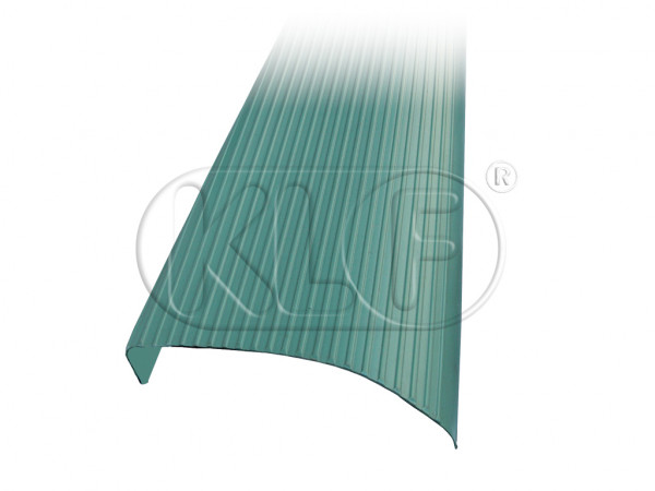 Running Board mat green, left