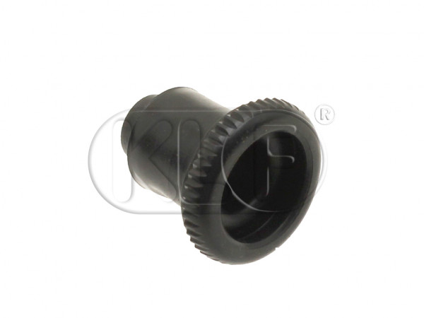 Fresh Air Control Knob, for padded dashboard, year 08/67 on (not 1303)